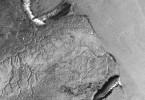 Imagen captada por la misión ALOS PALSAR sobre parte del Mar Argentino