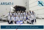 Equipo de trabajo ARSAT 1