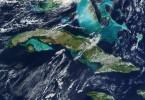 Cuba vista desde el Espacio