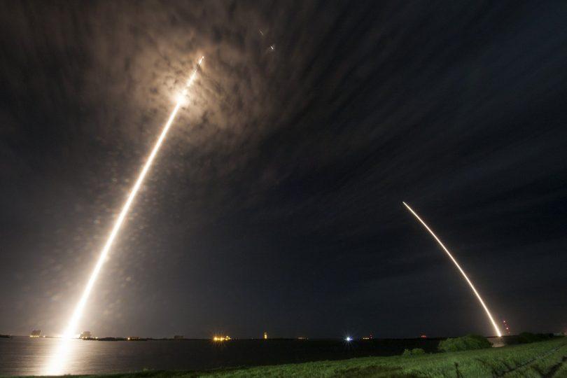 SpaceX lanzó la nave Dragon hacia la ISS