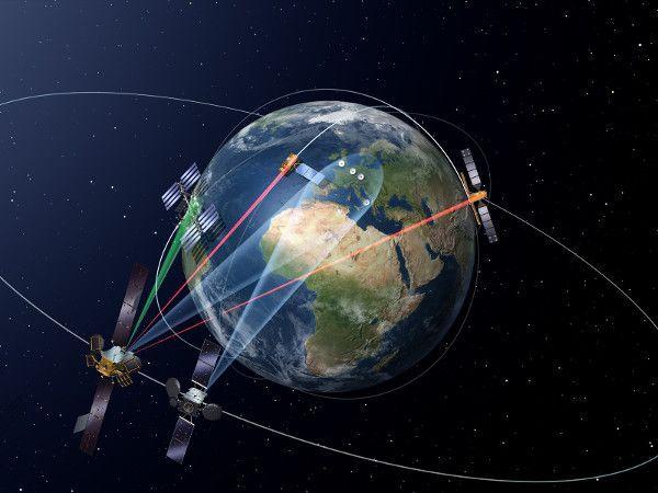 EDRS, la autopista espacial de la información
