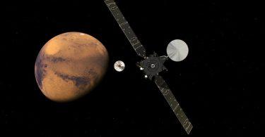 Llegada de ExoMars a Marte