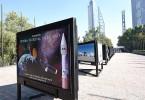 Exposición sobre el Sistema Satelital Mexicano
