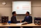 Firma del acuerdo de cooperación entre Costa Rica y Japón