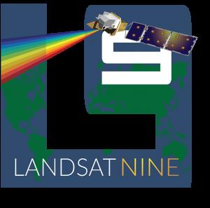 Logo de la misión Landsat-9
