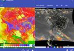 Captura de pantalla de la aplicación MapSAT