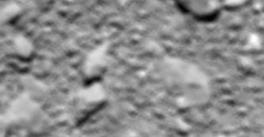 última imagen de Rosetta sobre el cometa