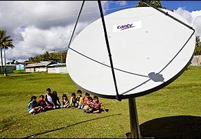 Antena receptora de CANTV