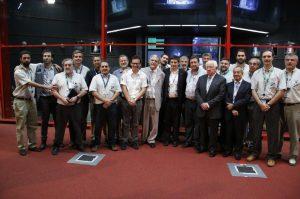Delegación argentina en Kourou para el lanzamiento del Arsat-2
