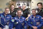 Tripulación de la Expedición 49 a bordo de la ISS