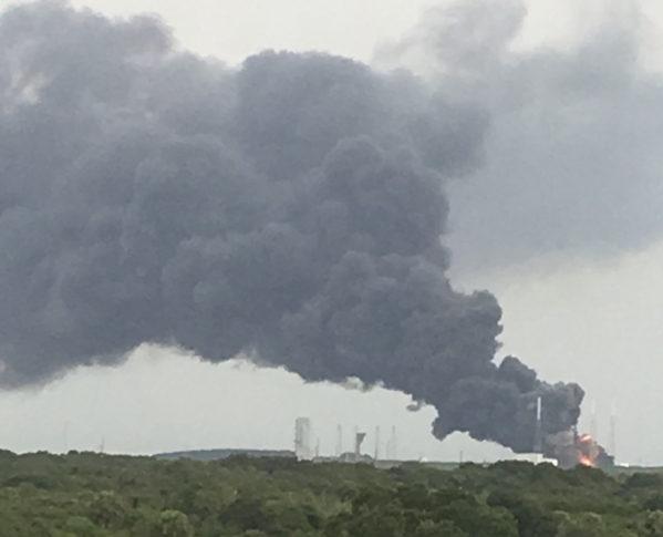 Explosión de Falcon 9