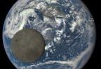 La Luna y la Tierra - Cámara EPIC