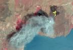 Erupción del Volcán Motombo en Nicaragua, enero 2016. ASTER